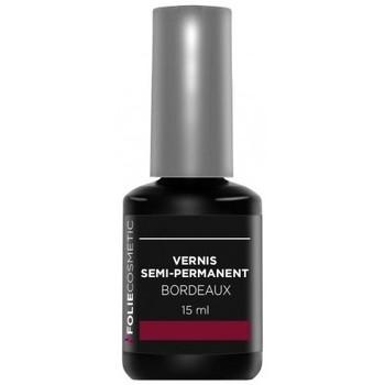 Beauté Femme Vernis à ongles Folie Cosmetic Vernis Semi permanent  Bordeaux   15ml Autres
