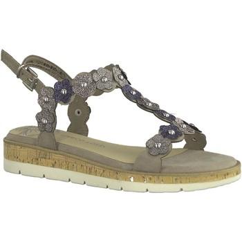 Chaussures Femme Sandales et Nu-pieds Marco Tozzi 28639 taupe