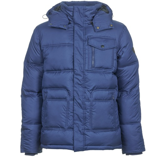Vêtements Homme Doudounes Wrangler THE GUARD Bleu