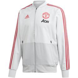 Vêtements Homme Vestes de survêtement adidas Originals Veste Manchester United Pre 2018-19 gris