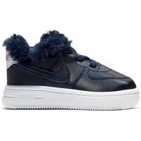 Chaussures Enfant Basketball Nike FORCE 1 '18 VALENTINE'S DAY / BLEU MARINE Bleu marine
