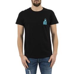Vêtements Homme T-shirts manches courtes Adn12 boucle noir