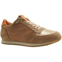 Chaussures Femme Baskets basses Reqin's ERICA MIX RESILLE SABLE