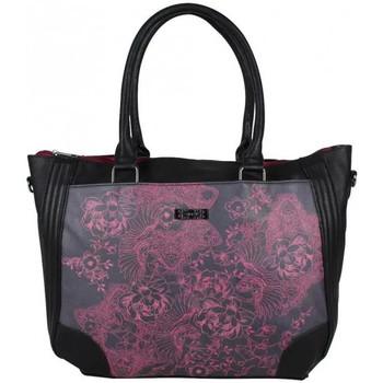 Sacs Femme Cabas / Sacs shopping Smash Sac cabas motif imprimé  Lana SM Noir