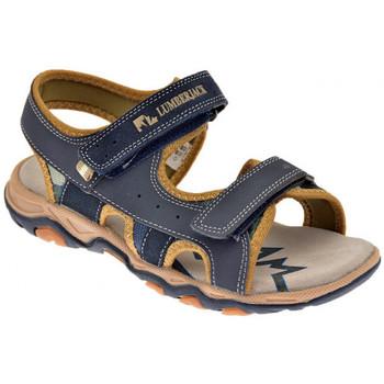 Sandales et Nu-pieds Lumberjack Levi 30/35 Velcro Sandales