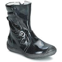 Chaussures Fille Bottes ville GBB LIVIANA Noir