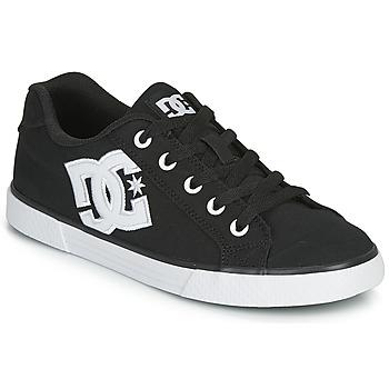 Chaussures Femme Chaussures de Skate DC Shoes CHELSEA TX Noir / Blanc