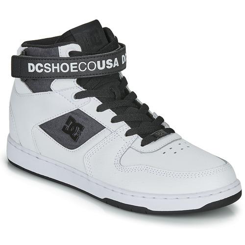 DC Shoes PENSFORD SE Blanc / Noir - Livraison Gratuite