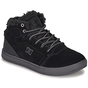 Chaussures Enfant Baskets montantes DC Shoes CRISIS HIGH WNT Noir