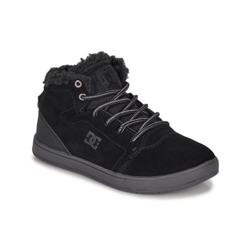 Chaussures Enfant Baskets montantes DC Shoes CRISIS HIGH WNT Noir