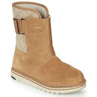 Chaussures Femme Boots Sorel NEWBIE Miel
