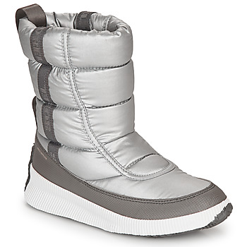 Chaussures Femme Bottes de neige Sorel OUT N ABOUT PUFFY MID Gris