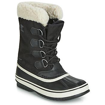 Chaussures Femme Bottes de neige Sorel WINTER CARNIVAL noir