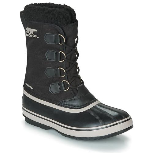 Pac Homme Chaussures Neige Noir De Sorel Bottes 1964 Nylon 6fYbmI7gyv