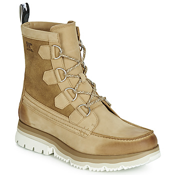 Chaussures Homme Boots Sorel ATLIS CARIBOU WATERPROOF Camel