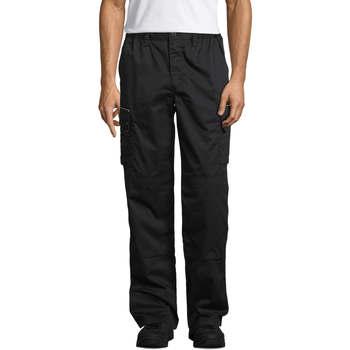 Vêtements Pantalons cargo Sols ACTIVE PRO WORKS Negro