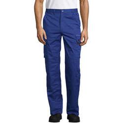 Vêtements Pantalons cargo Sols ACTIVE PRO WORKS Azul