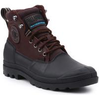 Chaussures Homme Boots Palladium Sport Cuff WP 2.0 75567-222-M brązowy, czarny