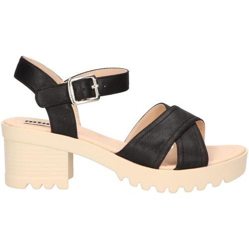 pieds Et 57968 Sandales Negro Nu Mtng Femme SzpMUVq