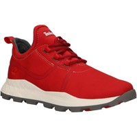 Chaussures Homme Baskets basses Timberland A1Z14 BROOKLYN Rojo