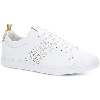 Chaussures Femme Baskets basses Lacoste CARNABY EVO 119 11 US SFA Blanc