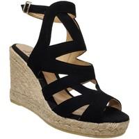 Chaussures Femme Sandales et Nu-pieds Toni Pons Mirna Noir  velours