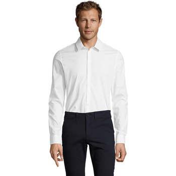 Vêtements Homme Chemises manches longues Sols BLAKE MODERN MEN Blanco
