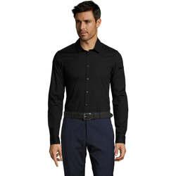 Vêtements Homme Chemises manches longues Sols BLAKE MODERN MEN Negro