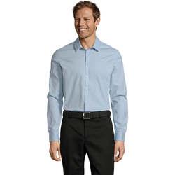 Vêtements Homme Chemises manches longues Sols BLAKE MODERN MEN Azul