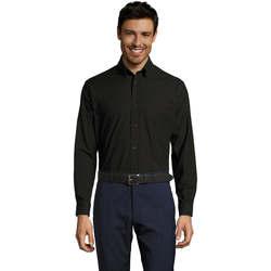 Vêtements Homme Chemises manches longues Sols BOSTON STYLE OXFORD Negro