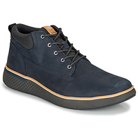 Chaussures Homme Baskets montantes Timberland CROSS MARK PT CHUKKA Bleu