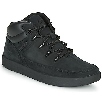 Chaussures Enfant Baskets montantes Timberland DAVIS SQUARE TDEUROSPRINT Noir