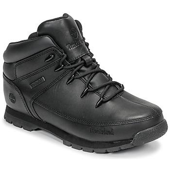 Chaussures Enfant Boots Timberland EURO SPRINT Noir