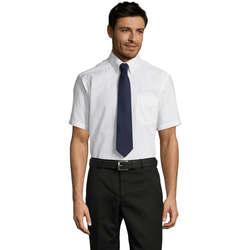 Vêtements Homme Chemises manches courtes Sols BRISBANE ORIGINAL WORK Blanco