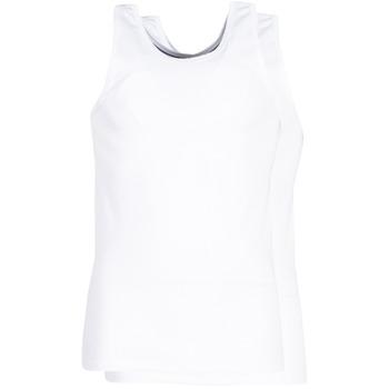 Sous-vêtements Homme Maillots de corps DIM X-TEMP TOPS X 2 Blanc