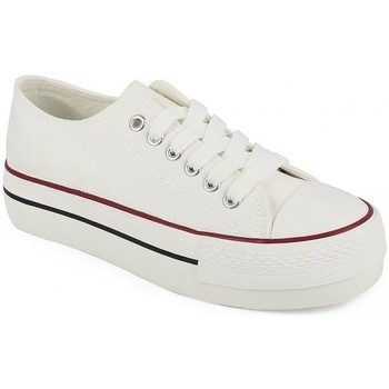 Chaussures Fille Baskets basses Chika 10 23595-24 Blanc