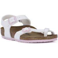 Chaussures Fille Sandales et Nu-pieds Birkenstock NEW YORK Bianco