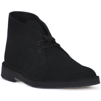 Chaussures Boots Clarks DESERT BOOT BLK Nero