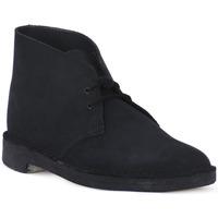 Chaussures Boots Clarks DESERT BOOT NAVY Blu