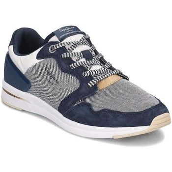 Chaussures Homme Baskets basses Pepe jeans pms30514 bleu