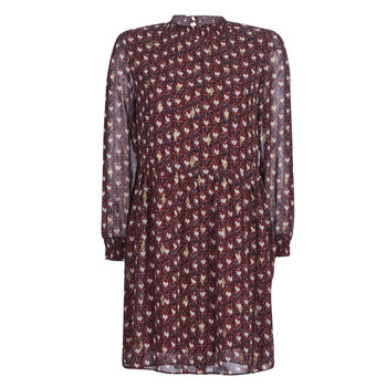 Betty Vêtements London Robes Lily Courtes Bordeaux Femme kwXPn08O