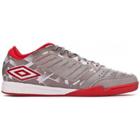 Chaussures Homme Football Umbro Chaleira Pro IC Gray flannel-Goji berry