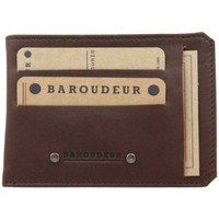 Sacs Homme Porte-Documents / Serviettes Fourès Porte papier cuir plat Foures Fabrication France marron Multicolor