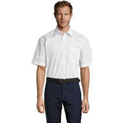 Vêtements Homme Chemises manches courtes Sols BRISTOL MODERN WORK Blanco