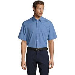 Vêtements Homme Chemises manches courtes Sols BRISTOL MODERN WORK Azul