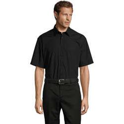 Vêtements Homme Chemises manches courtes Sols BRISTOL MODERN WORK Negro