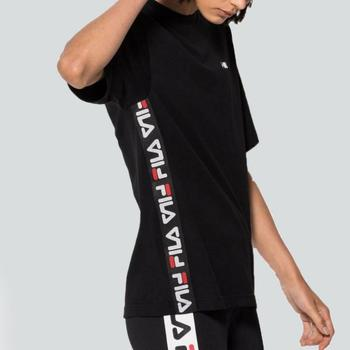 Vêtements Fila Women Talita Homme shirts T Noir Manches shirt Courtes T Yf7gy6b
