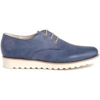 Chaussures Femme Derbies Funchal 20500 Bleu