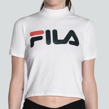 Vêtements Femme T-shirts manches courtes Fila FILA MEN EVERY TURTLE T-SHIRT BLANC Blanc