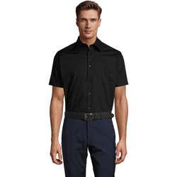 Vêtements Homme Chemises manches courtes Sols BROADWAY STRECH MODERN Negro
